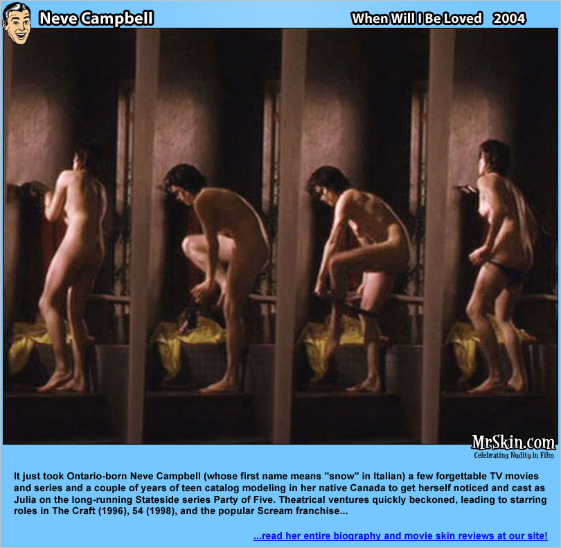 Neve campbell sex scenes, sitting on dick hot nude