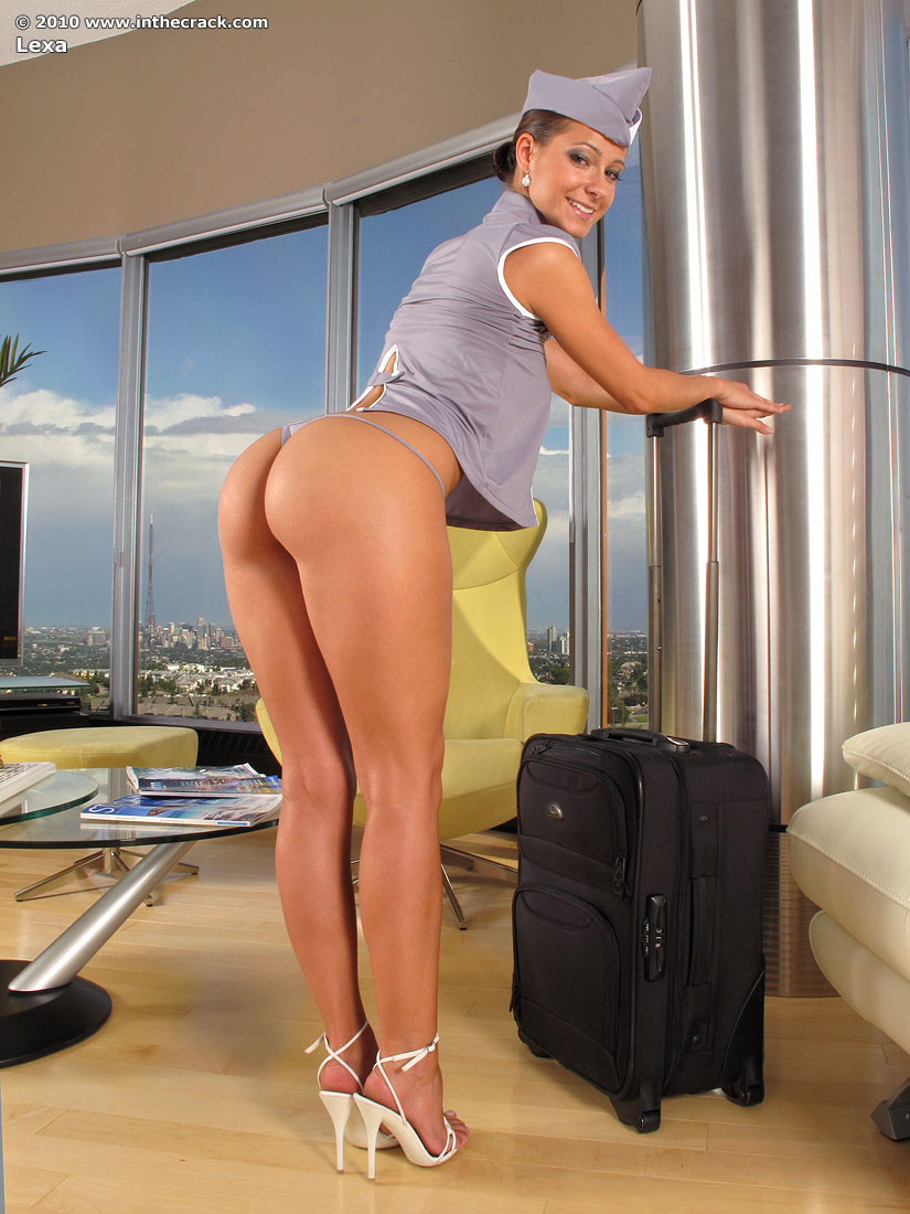 Big ass stewardess