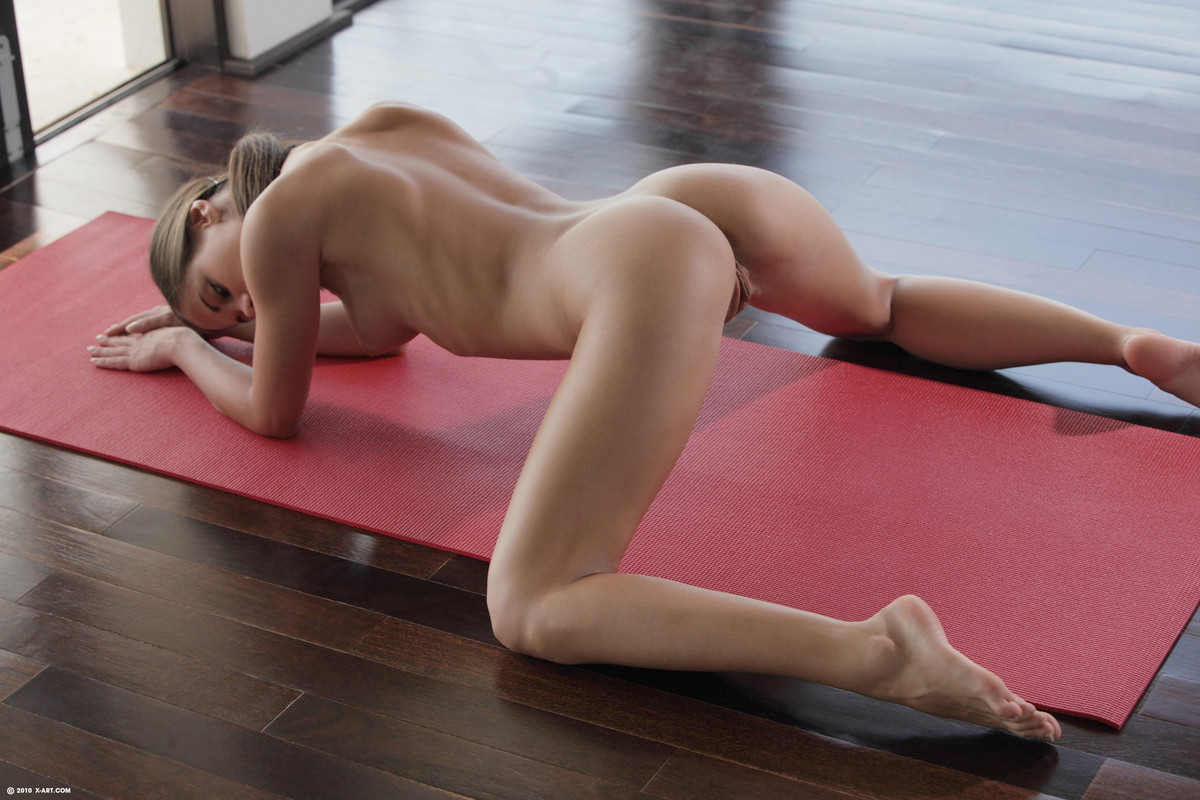 Double box set hot nude yoga