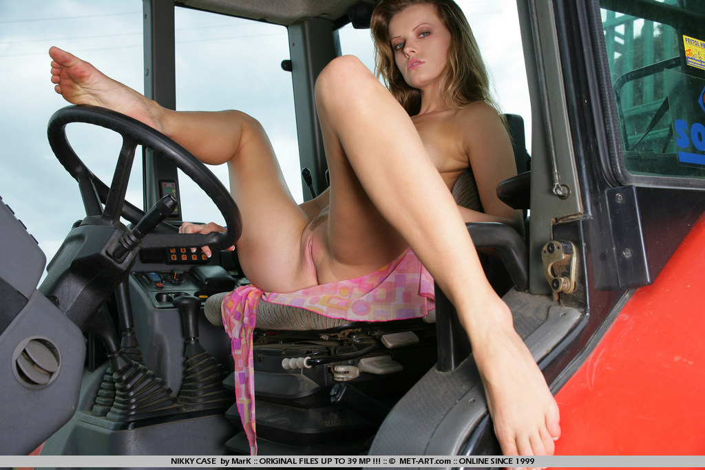 Words... Sexy naked tractor babes something is