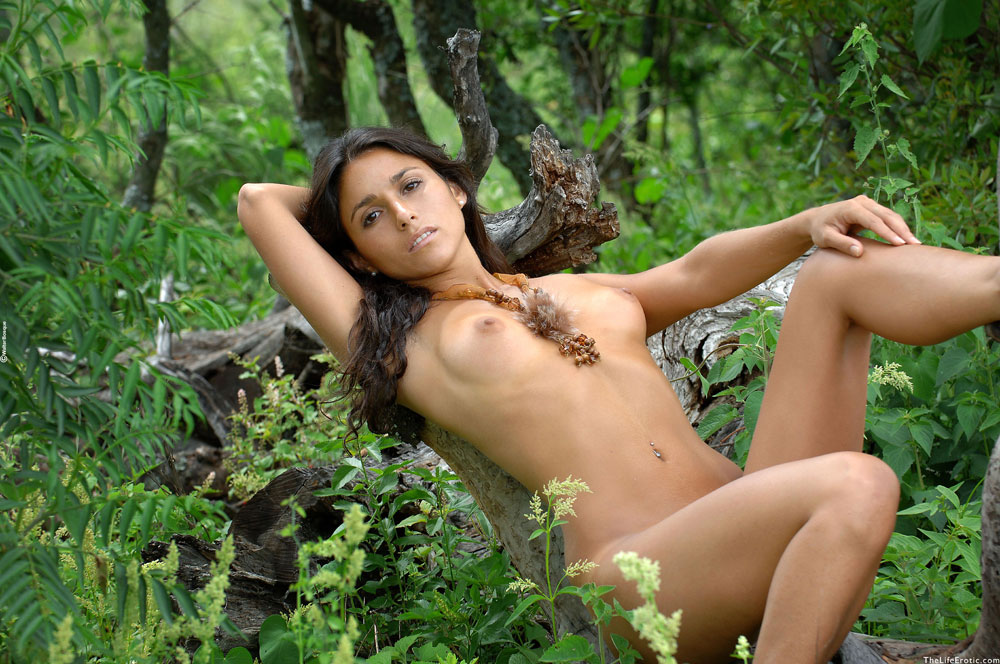 True Nude in the jungle