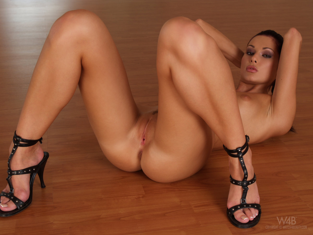Naked Girl With Heels