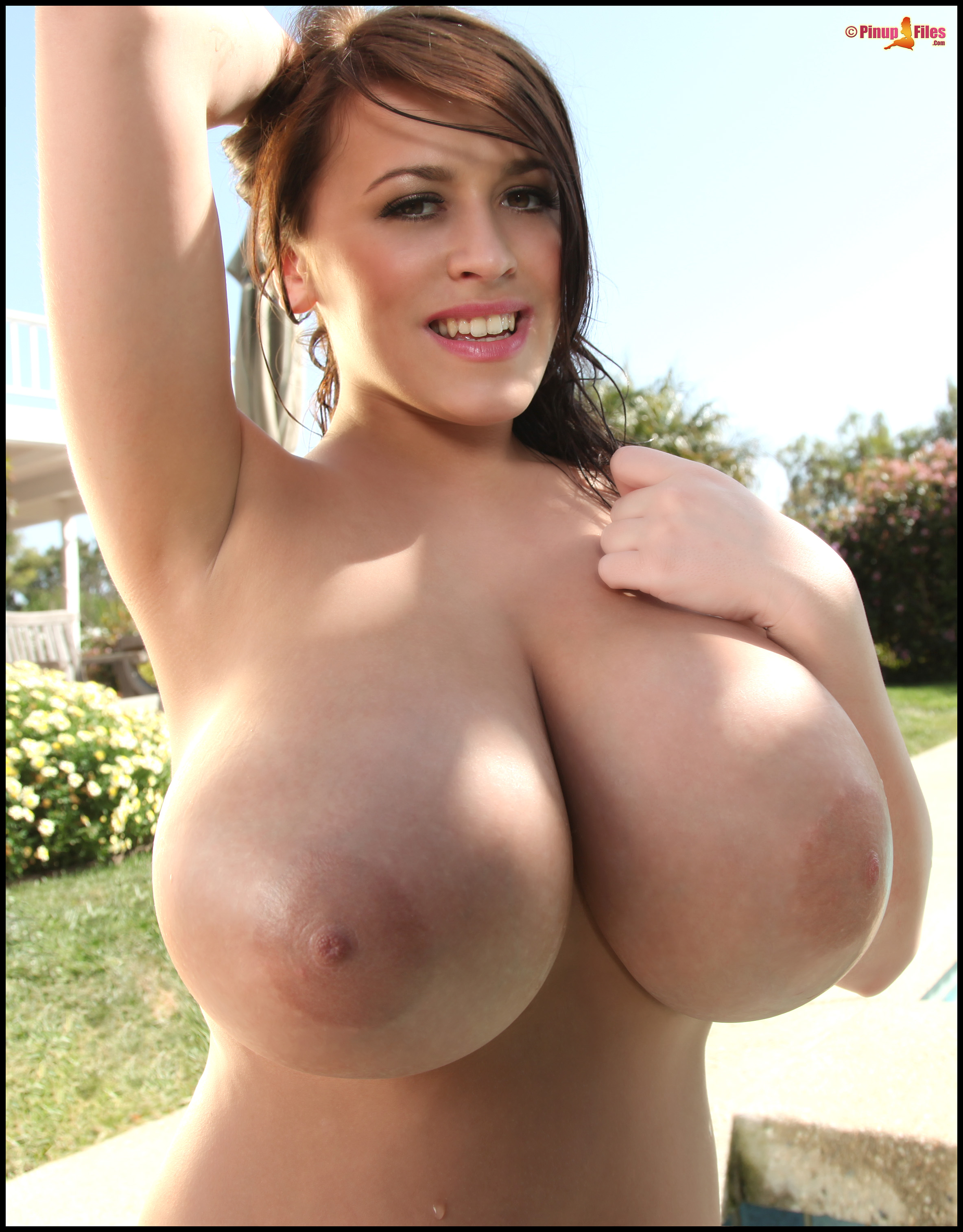 Large naked breasts-6191