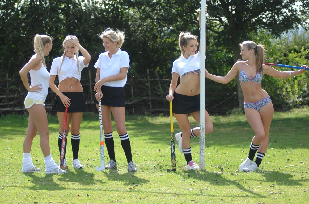 Field Hockey Babes Naked