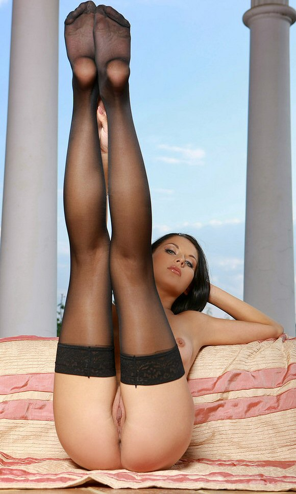 Laila A from Met Art Spreading Legs