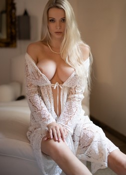 Ekaterina Enokaeva with large natural breasts